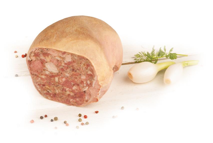 Salceson włoski w osłonce naturalnej